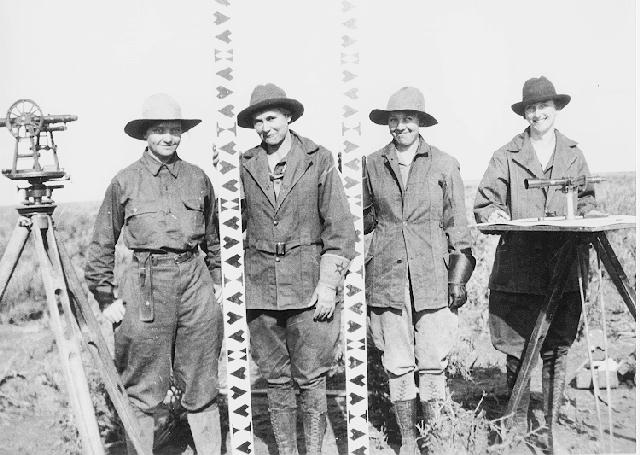 All Female Survey Crew 1918 - Land Surveyors | Daphne Land Surveying